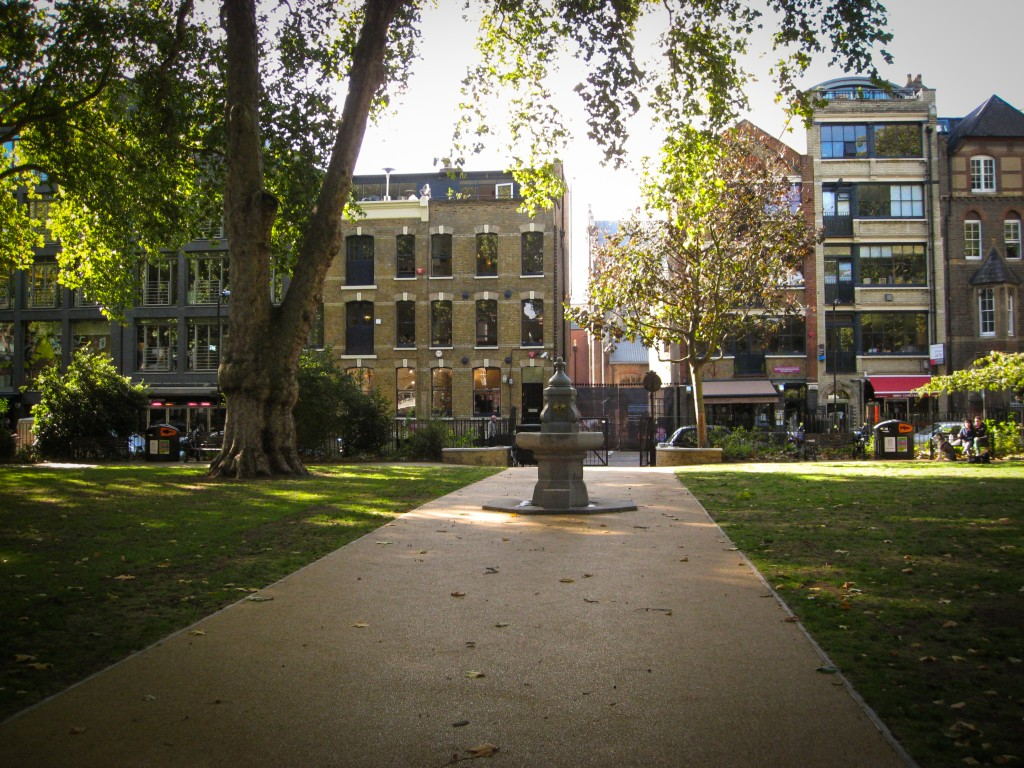 LONDON:  A NEIGHBORHOOD LESS TRAVELLED