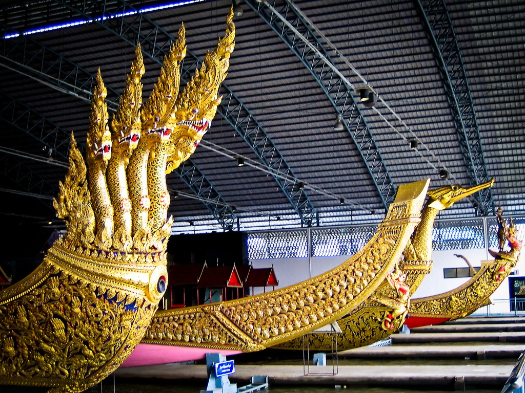 BANGKOK:  ROYAL BARGES NATIONAL MUSEUM