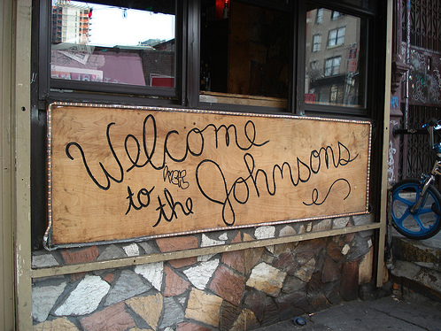 NEW YORK:  WELCOME TO THE JOHNSONS