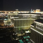 View from Vdara Hotel & Spa City Suite (photo by Tony Byers)