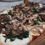 Wild Mushroom Flatbread at Barrio 47 (photo by Monica Byers)